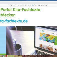Die KiTa-Fachtexte – als online-Bibliothek immer zugänglich