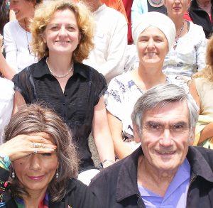 Beim letzten Europäischen IIT mit Marshall Rosenberg, 2008