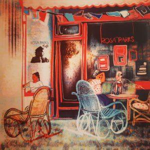 Rosa Parks Café, Illustration Aasta Mittal